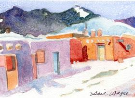 """click to order """"Pueblo Village"""""""